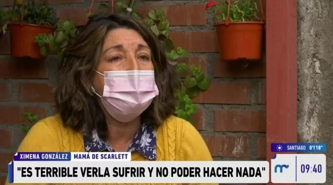 Mamá de Scarlett Ortega recordó las últimas conversaciones con su hija