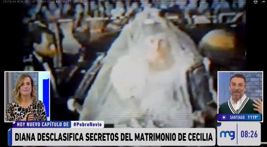 Diana Bolocco desclasificó impasse que sufrió Cecilia en boda con Michael Young