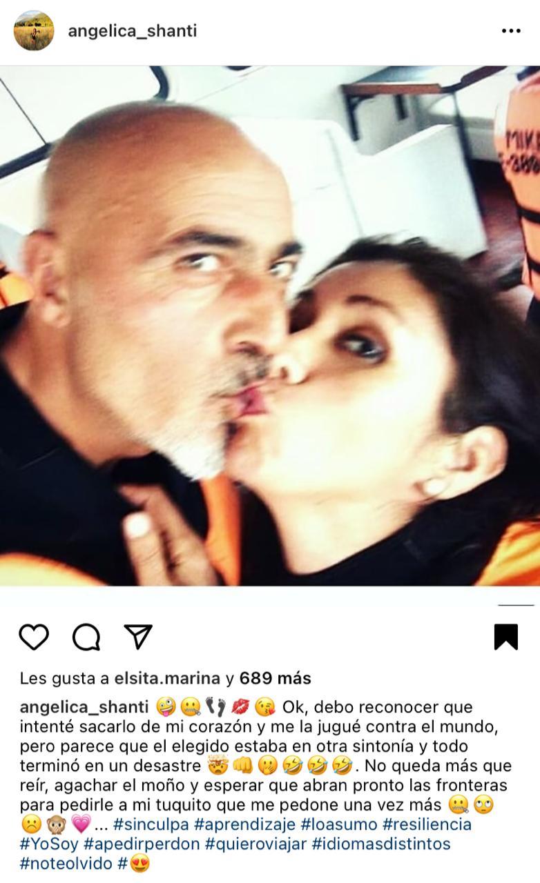 El enigmático mensaje que compartió Angélica Sepúlveda sobre su ex