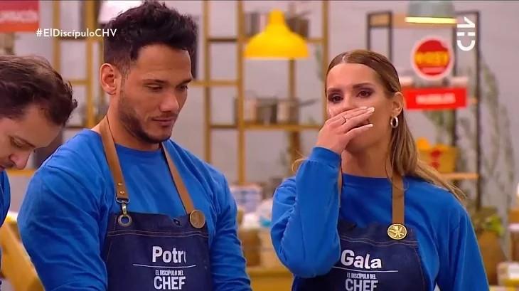 """Gala Caldirola rompe en llanto tras percance en """"El Discípulo del Chef"""""""