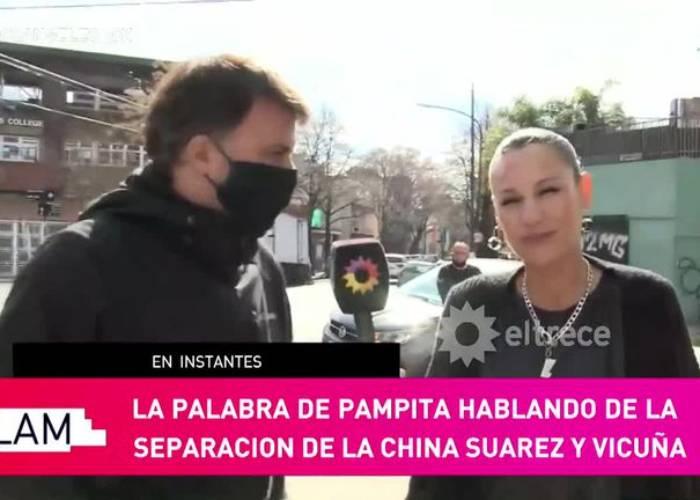 La reacción de Pampita tras el quiebre de Vicuña y China Suárez