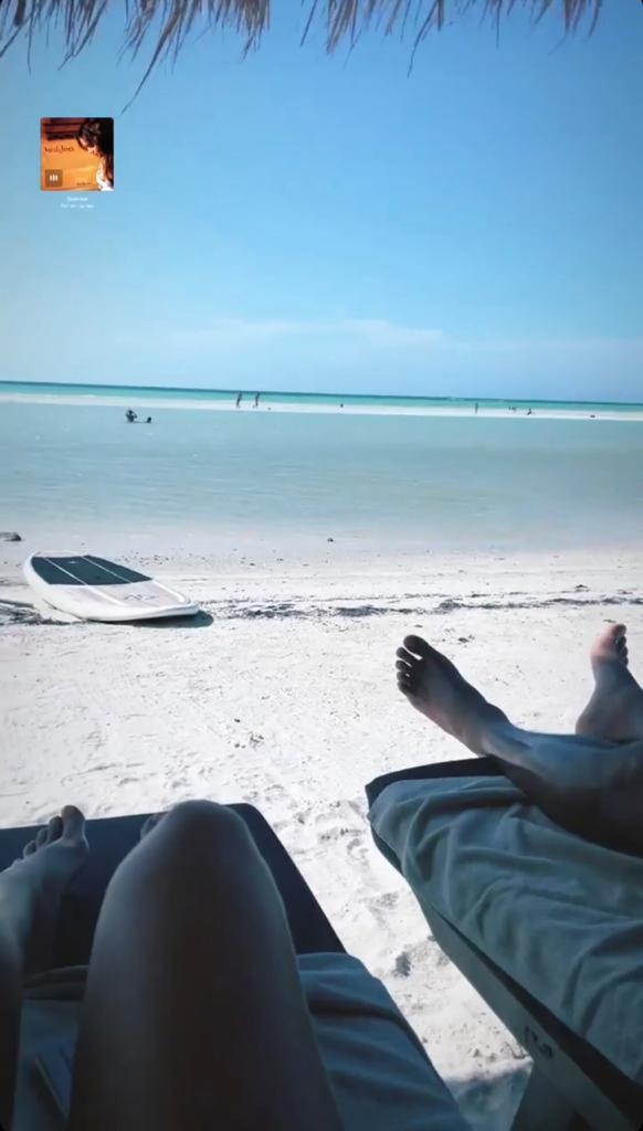 Mayte Rodríguez disfruta de unas vacaciones en el Caribe