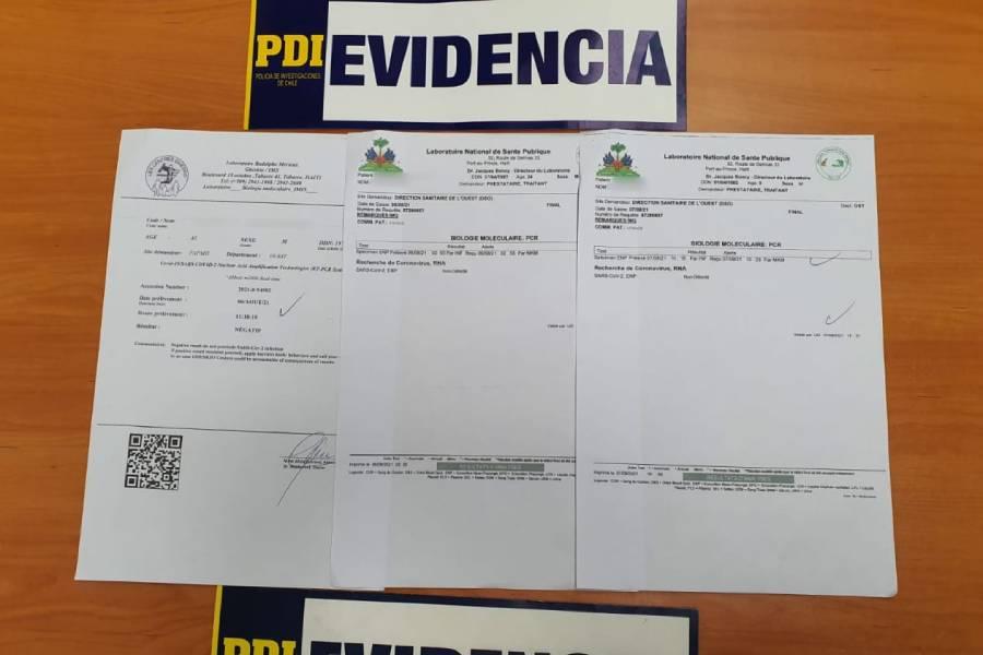 PDI detectó a 16 personas intentando ingresar a Chile con PCR falsos