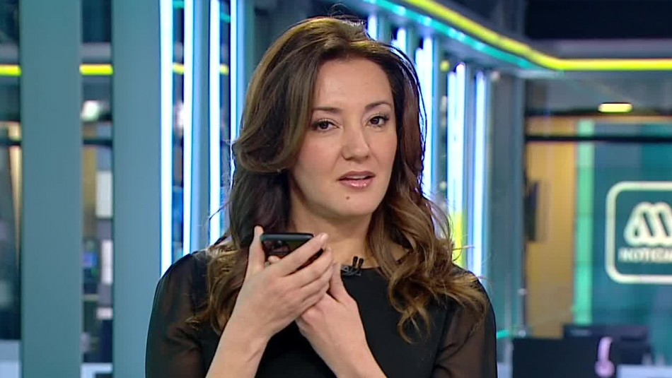 Priscilla Vargas llamó en vivo a José Luis Repenning por no llegar al noticiero