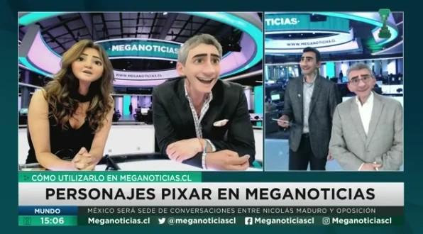 Priscilla Vargas y José Luis Repenning se convierten en personajes de Pixar